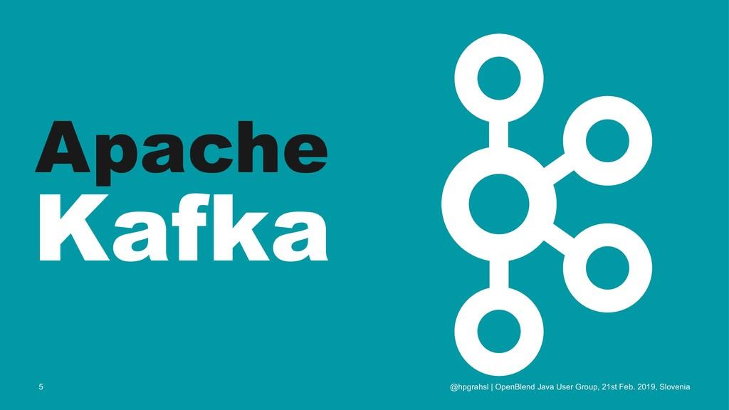 Apache Kafka @hpgrahsl | OpenBlend Java User Gr...