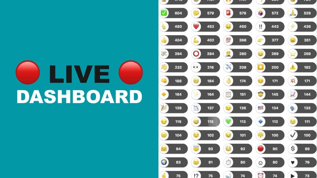 ! LIVE ! DASHBOARD