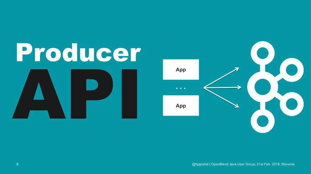 Producer API @hpgrahsl | OpenBlend Java User Gr...