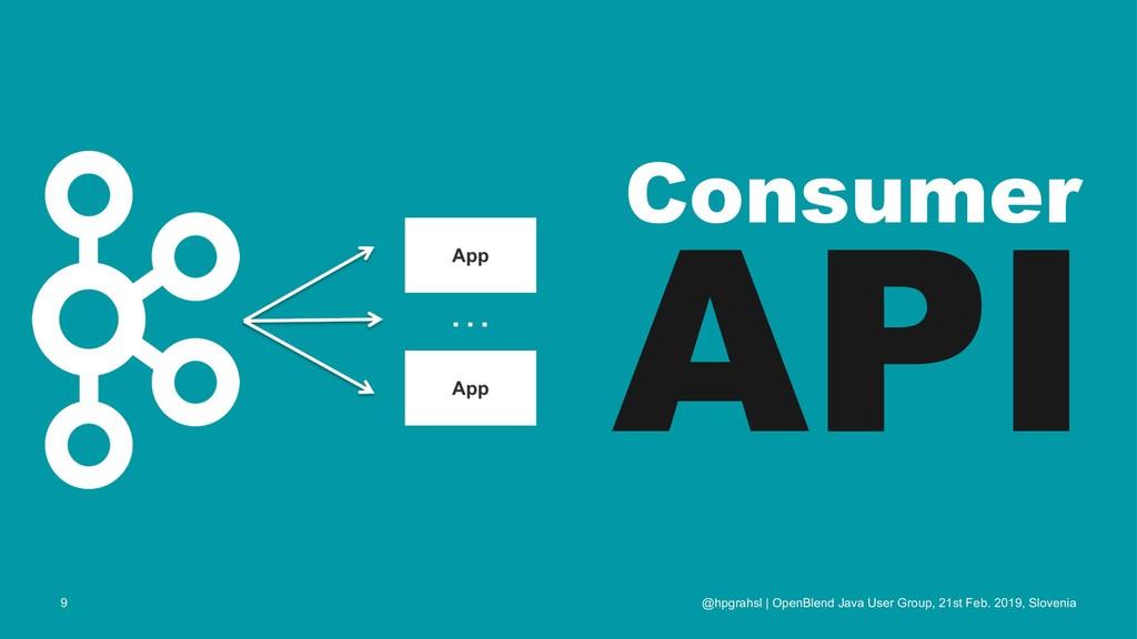 Consumer API @hpgrahsl | OpenBlend Java User Gr...