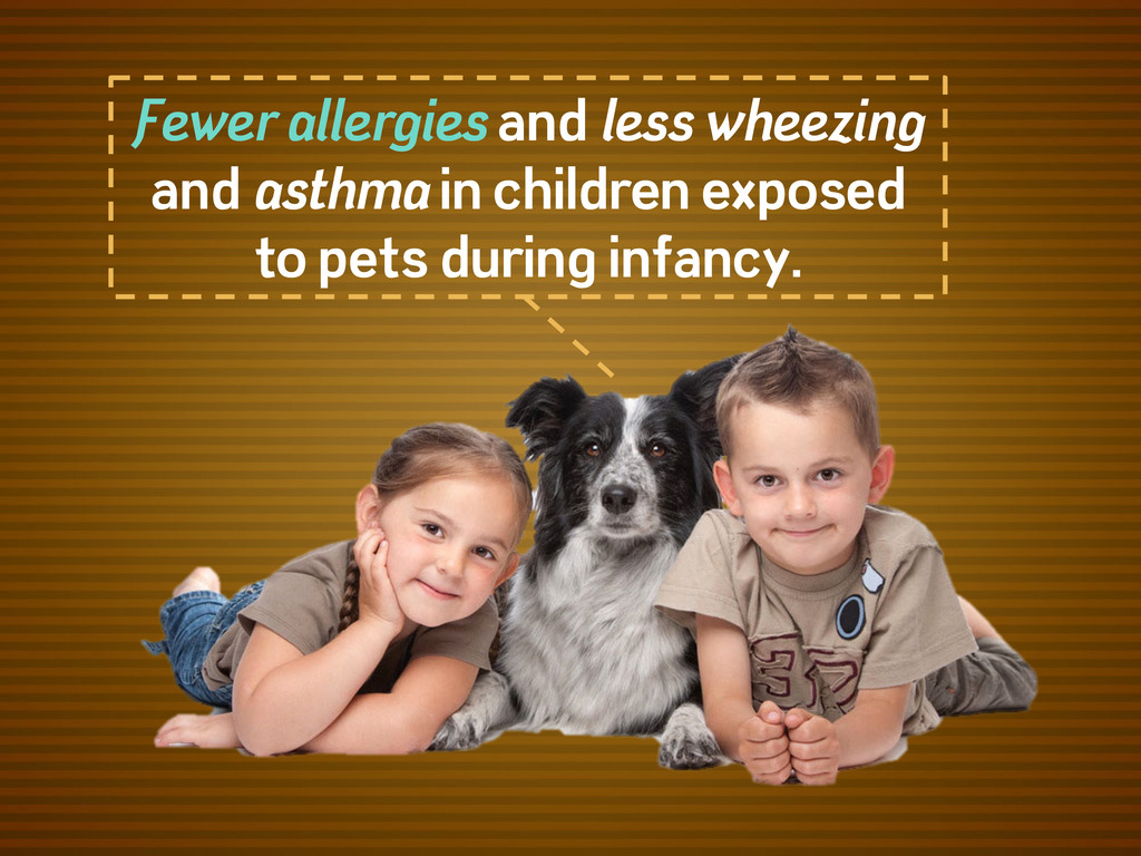 Fewer allergies and less wheezing and asthma in...