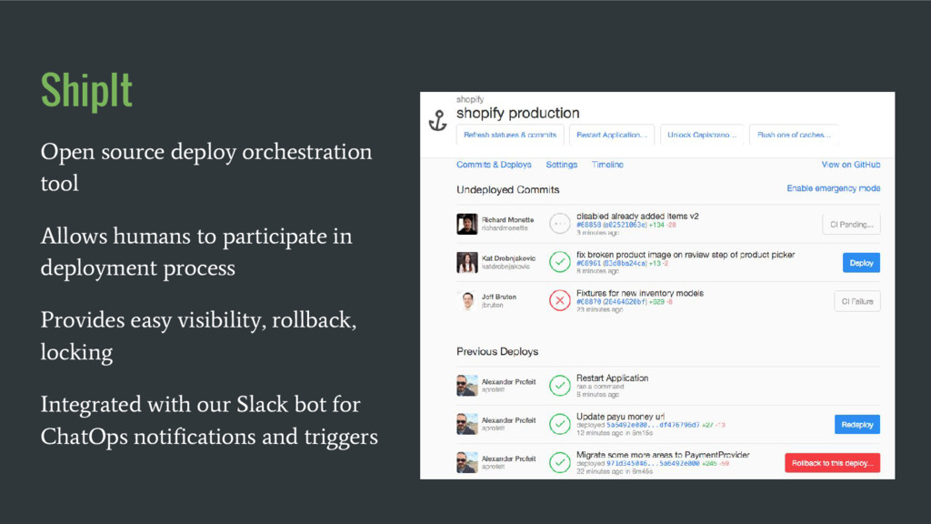 ShipIt Open source deploy orchestration tool Al...