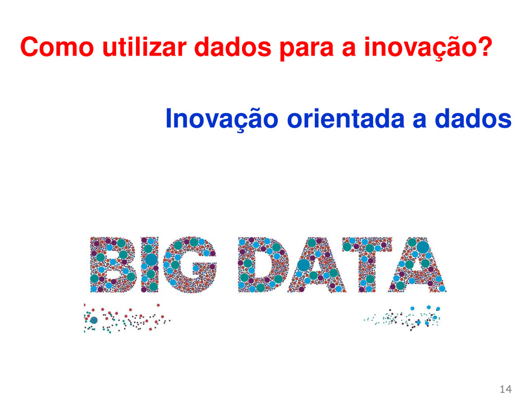 Como utilizar dados para a inovação? Inovação o...