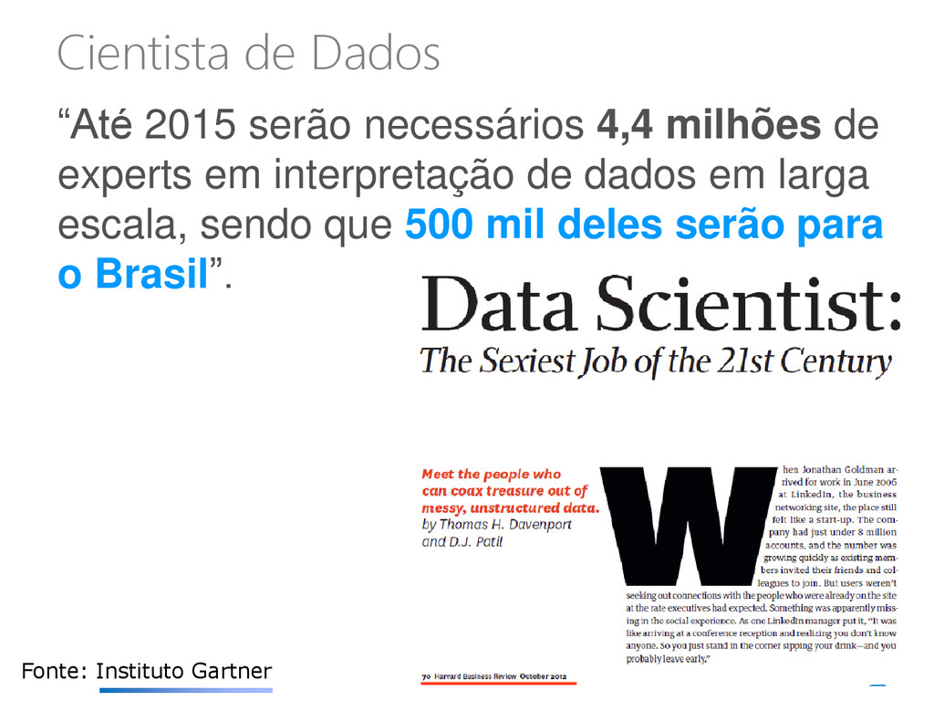 """""""Até 2015 serão necessários 4,4 milhões de expe..."""