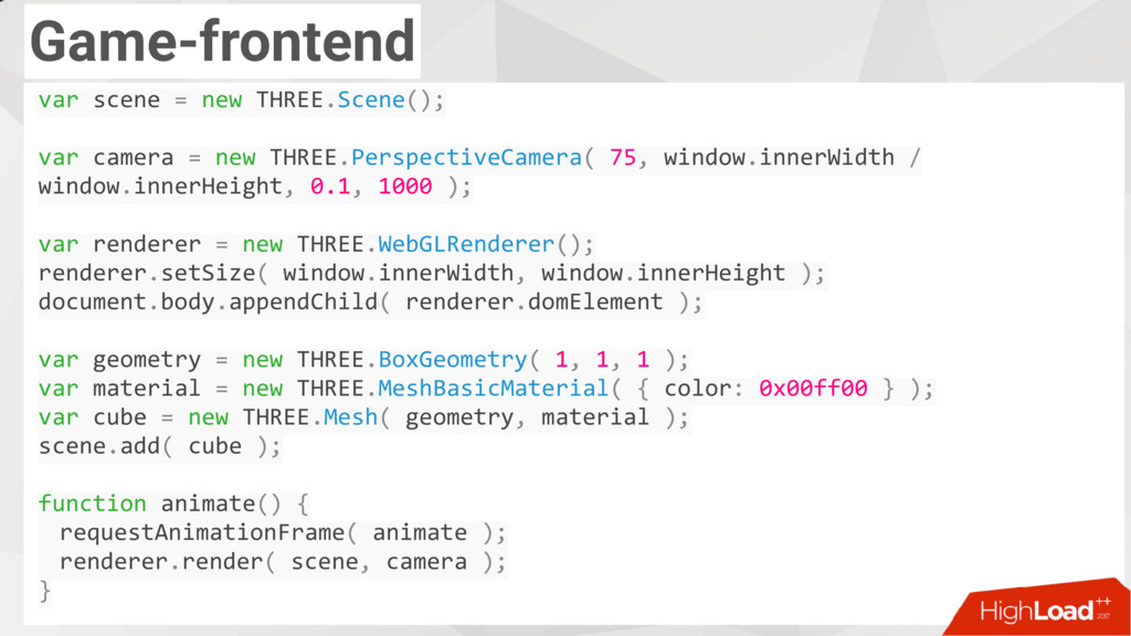 Game-frontend voxel.js your code three.js WebGL...