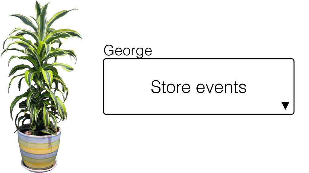 Store events ▼ George