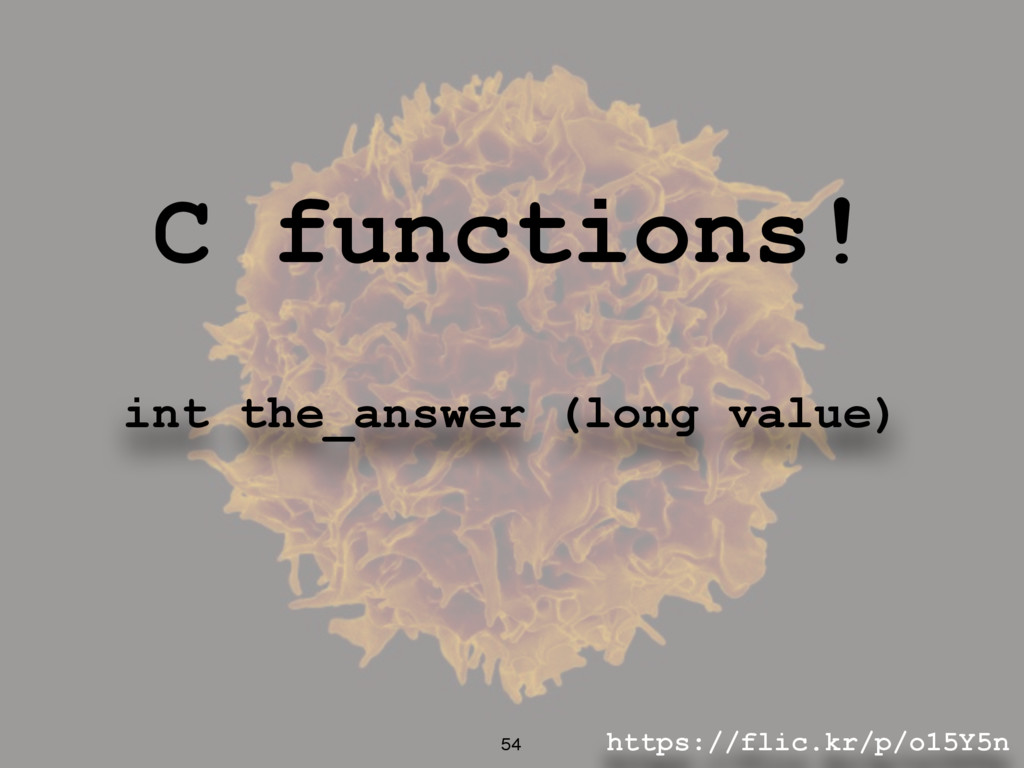 https://flic.kr/p/o15Y5n 54 C functions! int th...