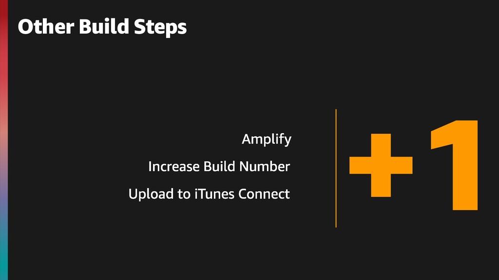 +1 Other Build Steps