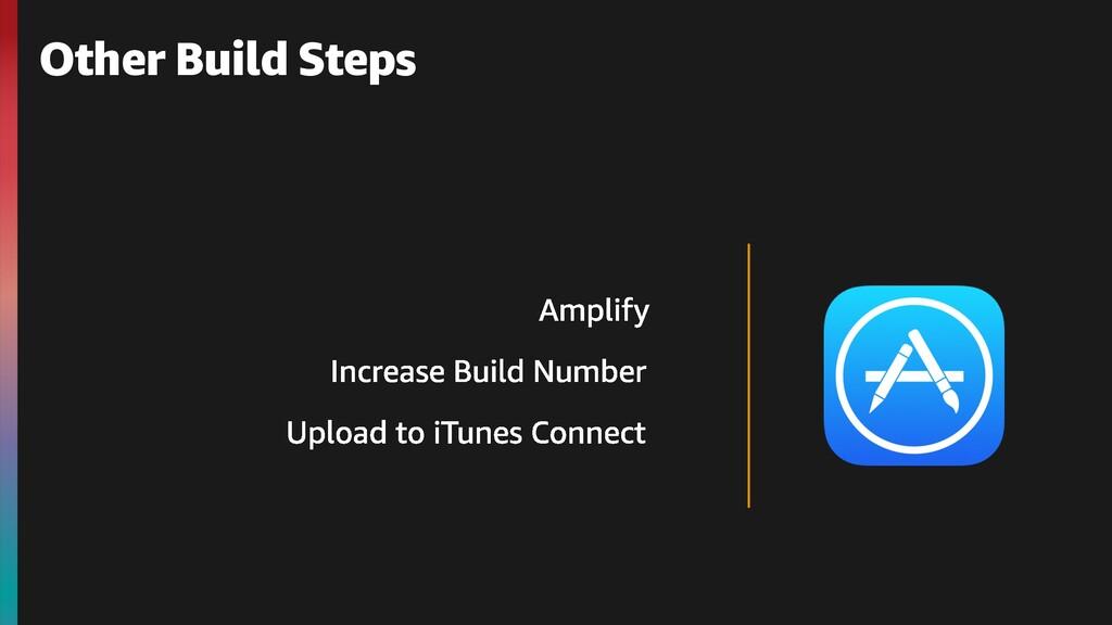 Other Build Steps