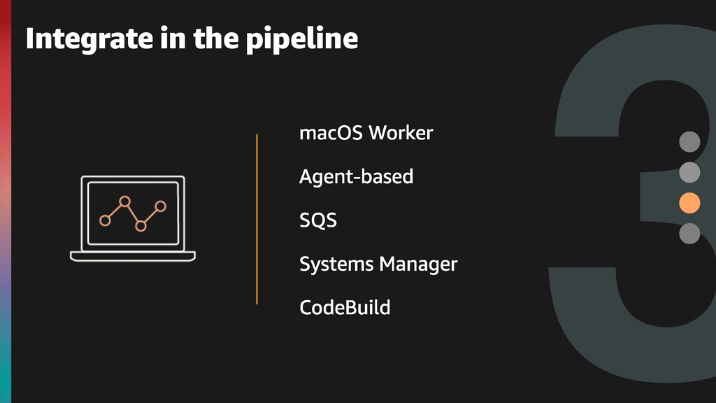 3 Integrate in the pipeline