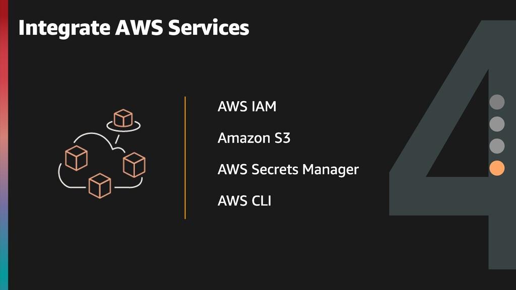 4 Integrate AWS Services
