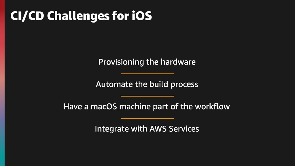CI/CD Challenges for iOS