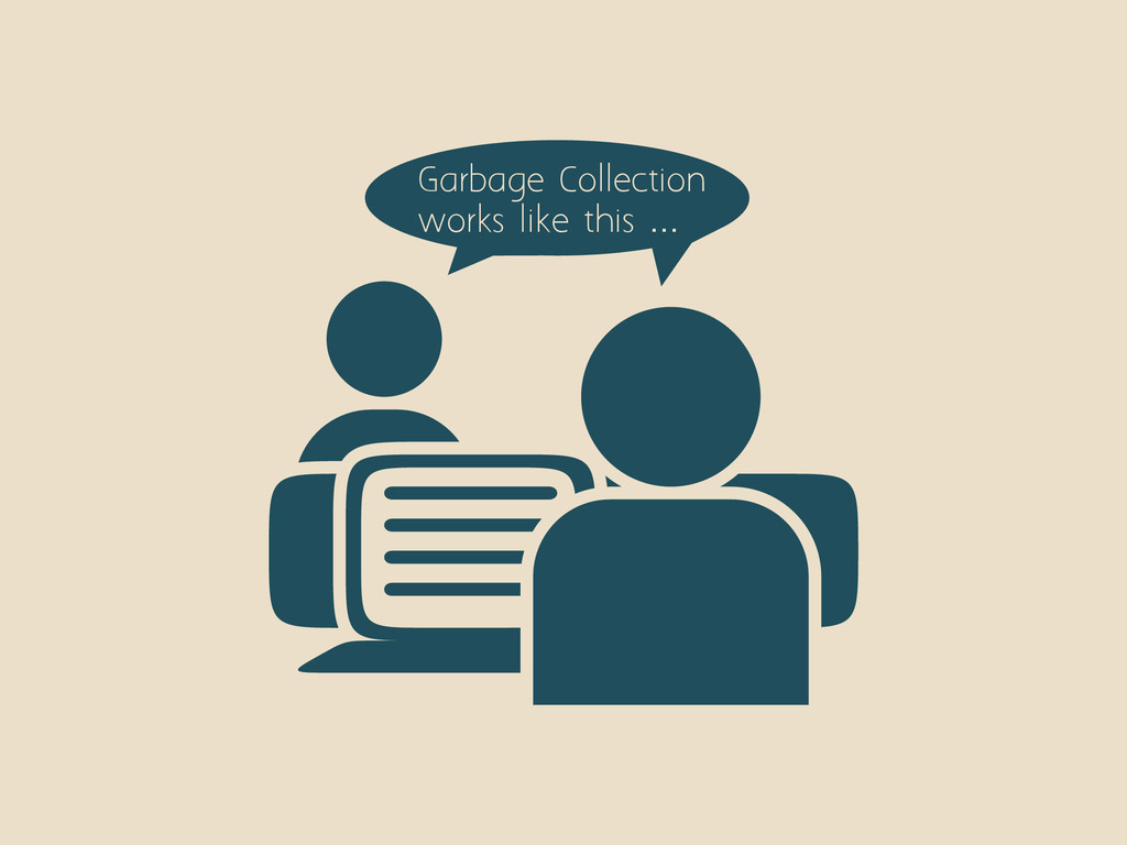 Garbage Collection works like this …