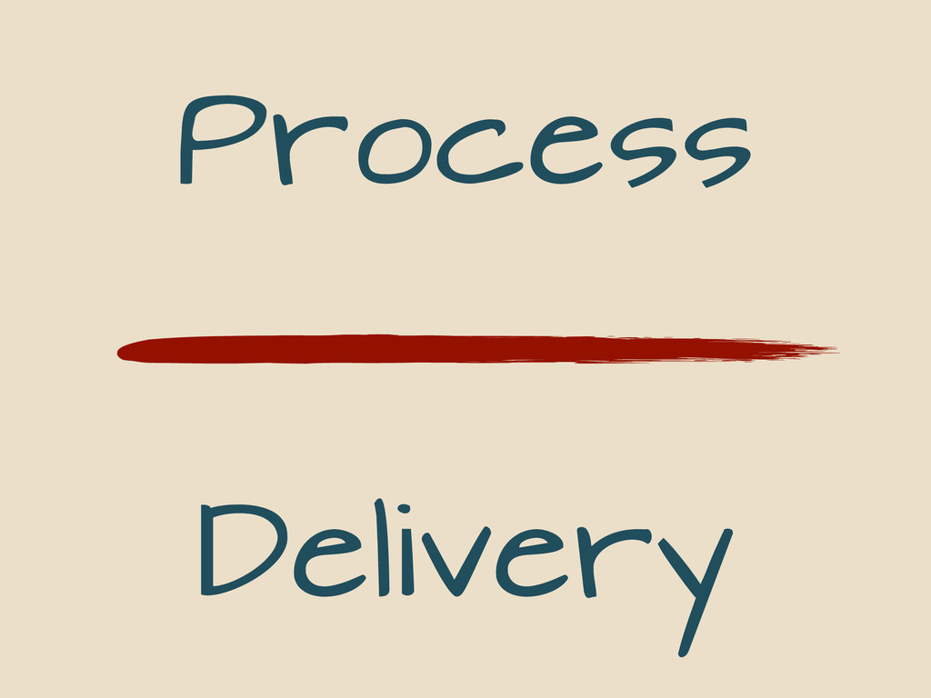 Process Delivery