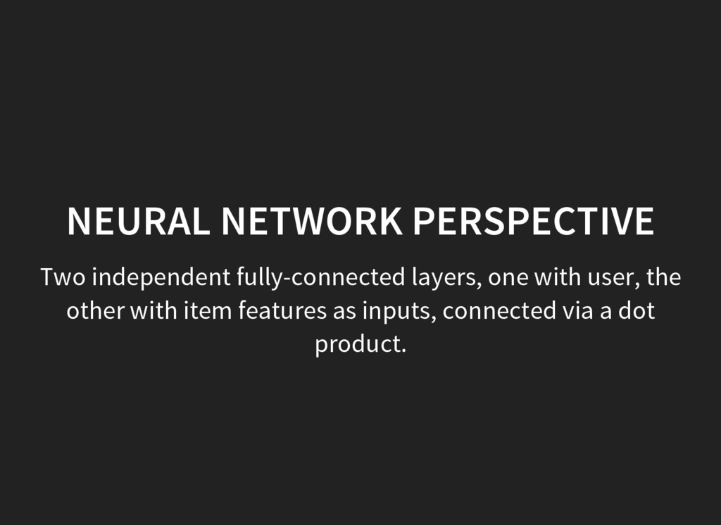 Two independent fully-connected layers, one wit...