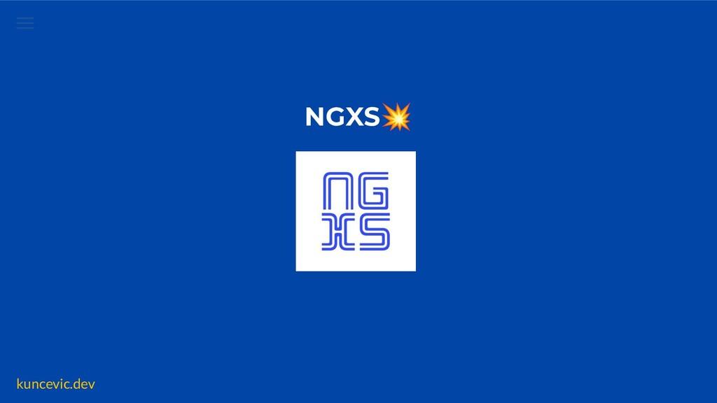kuncevic.dev NGXS Features  ✅ Simple ✅ Less Boi...