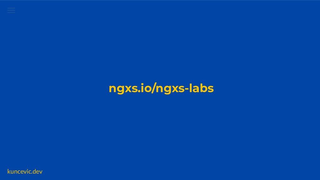 kuncevic.dev NGXS Data