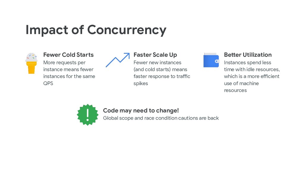 Impact of Concurrency Fewer Cold Starts More re...
