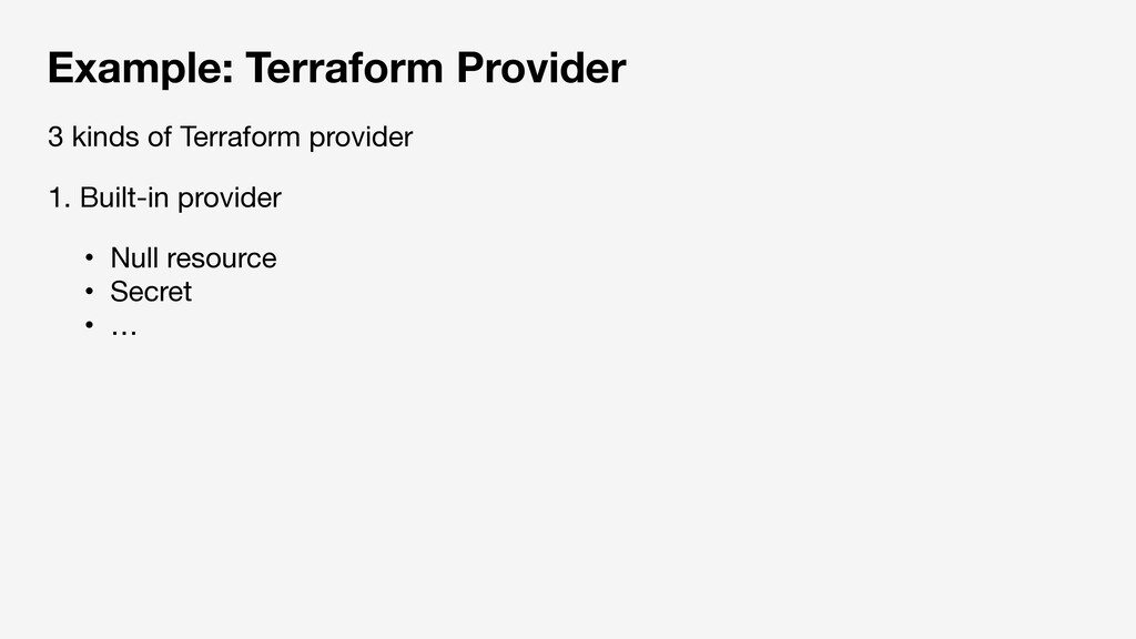 Example: Terraform Provider ɾNull resource  ɾSe...