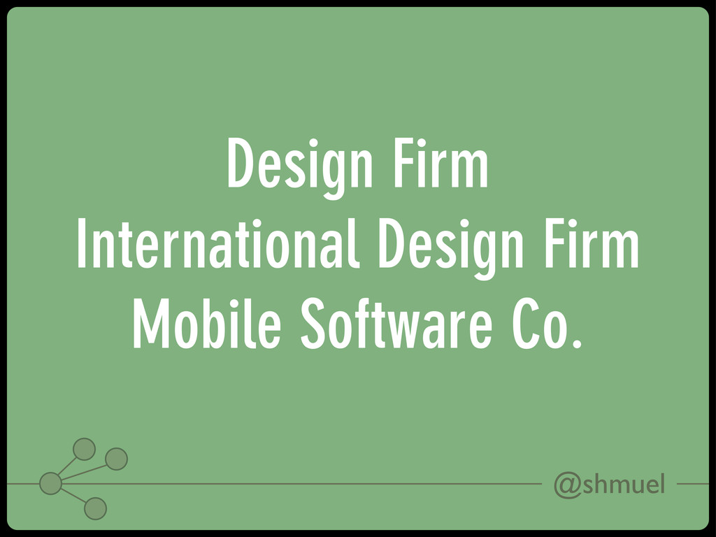 @shmuel Design Firm International Design Firm M...