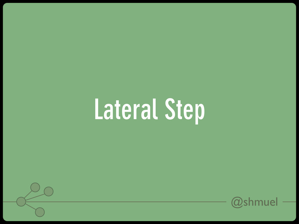 @shmuel Lateral Step