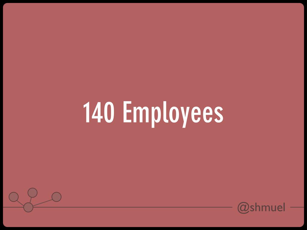 @shmuel 140 Employees