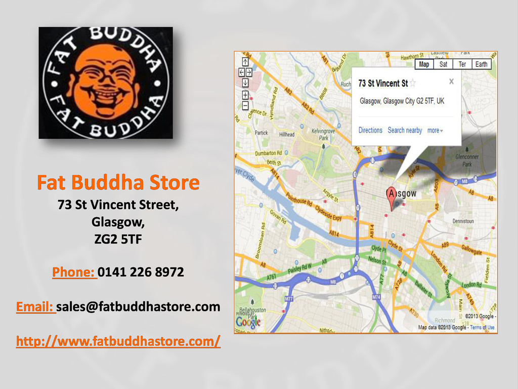Fat Buddha Store 73 St Vincent Street, Glasgow,...