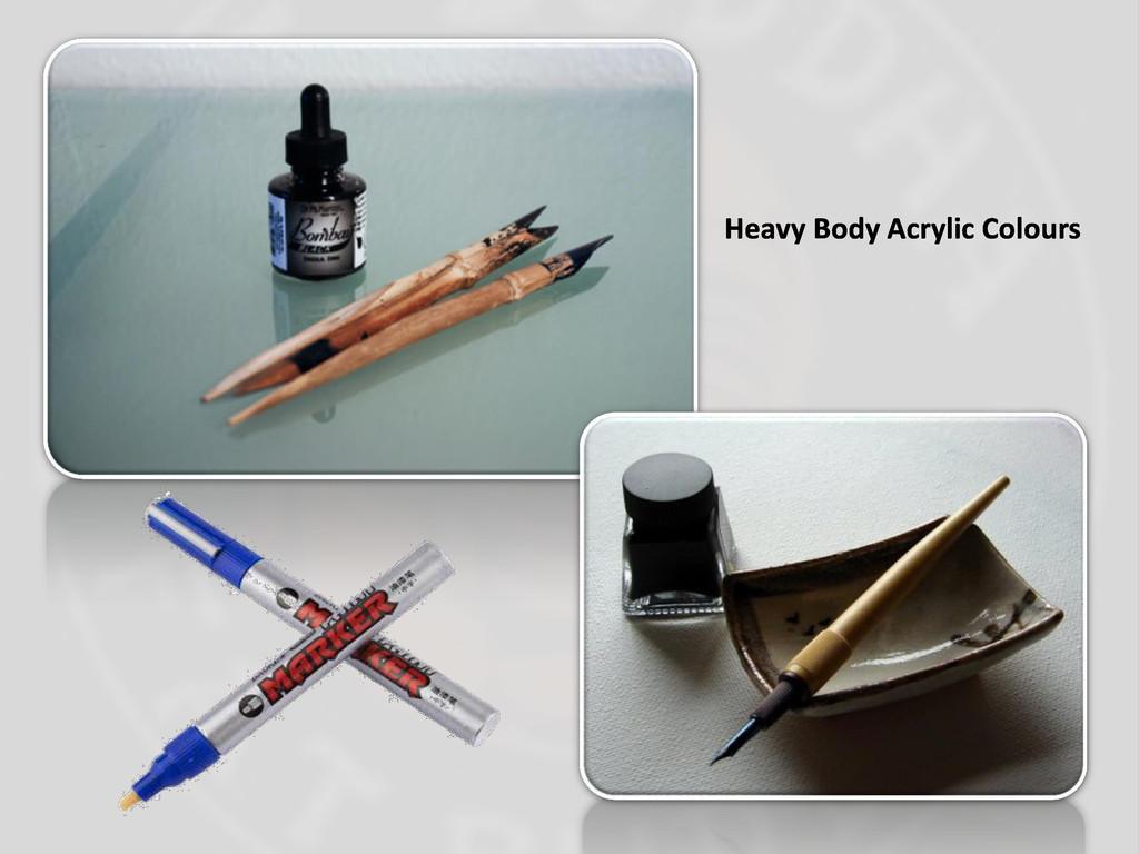 Heavy Body Acrylic Colours
