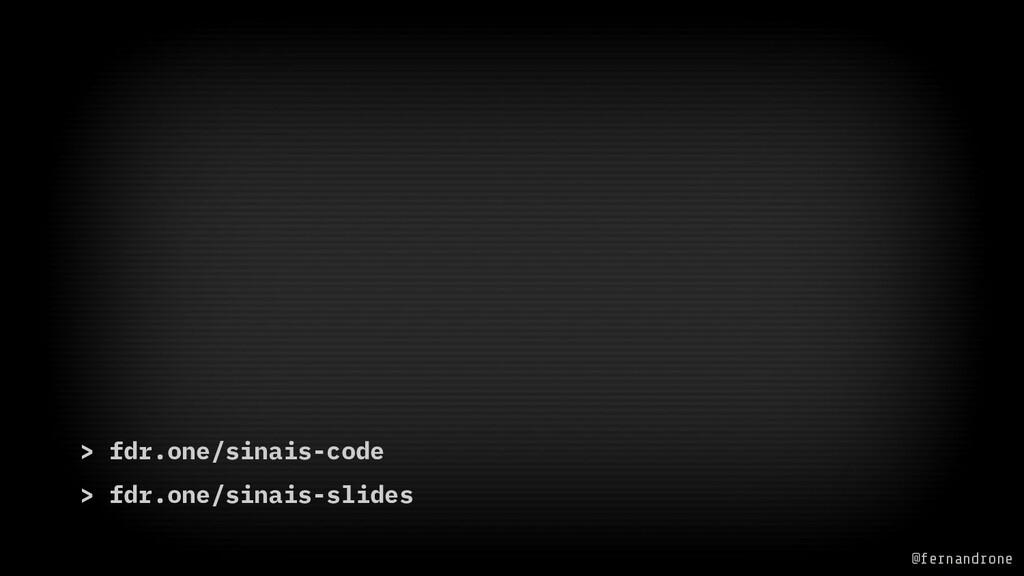> fdr.one/sinais-code > fdr.one/sinais-slides @...