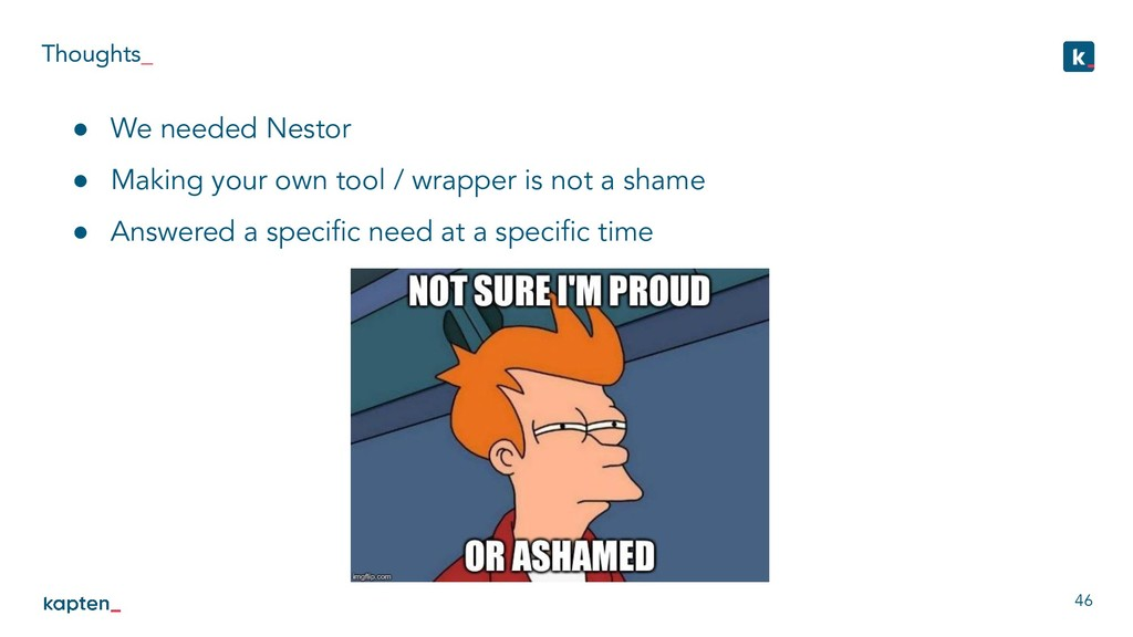 Thoughts_ 46 ● We needed Nestor ● Making your o...
