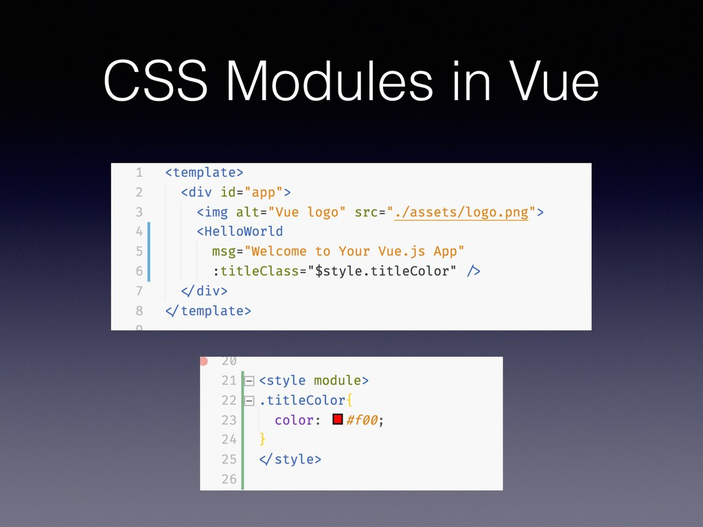CSS Modules in Vue