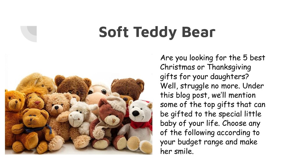 Soft Teddy Bear Are you looking for the 5 best ...