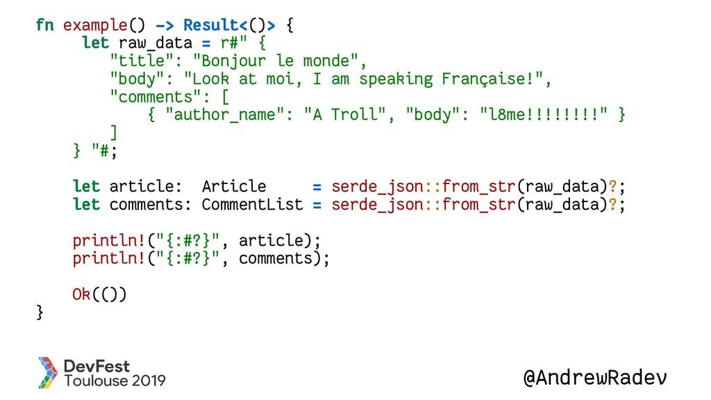 @AndrewRadev fn example() -> Result<()> { let r...