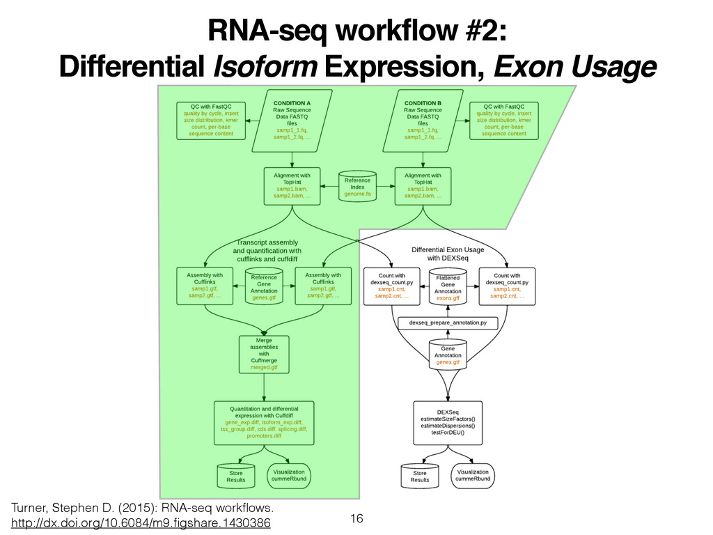 RNA-seq workflow #2:! Differential Isoform Expr...