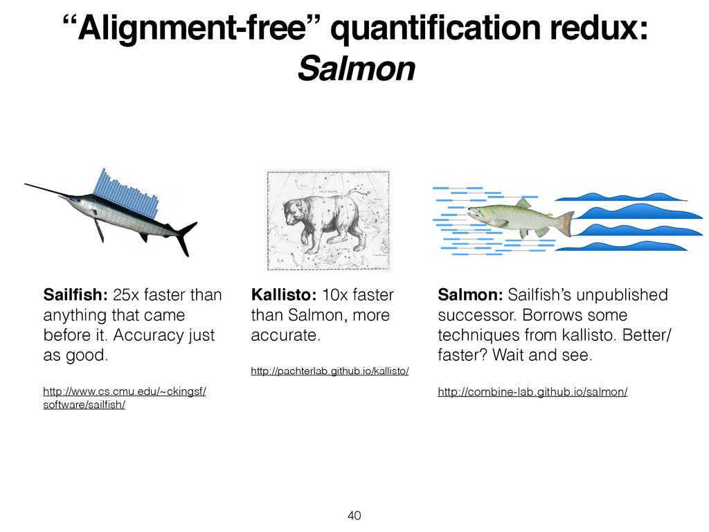 """Alignment-free"" quantification redux:! Salmon ..."