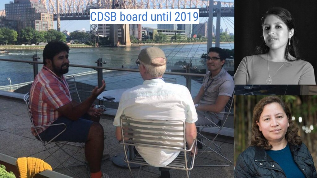 CDSB board until 2019