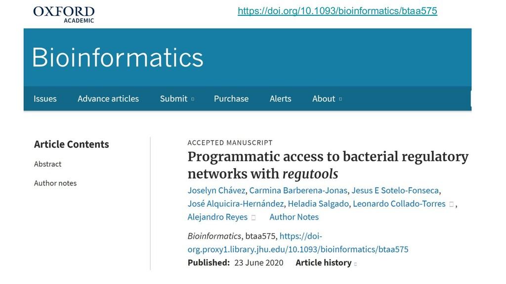 https://doi.org/10.1093/bioinformatics/btaa575