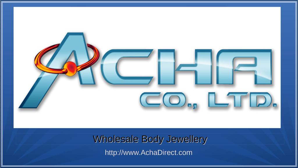 Wholesale Body Jewellery Wholesale Body Jewelle...