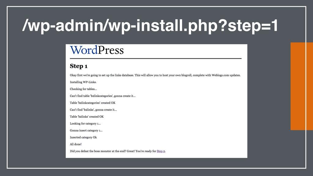 /wp-admin/wp-install.php?step=1