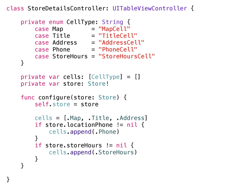 class StoreDetailsController: UITableViewContro...