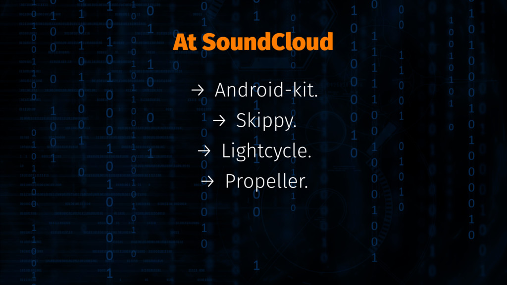 At SoundCloud → Android-kit. → Skippy. → Lightc...