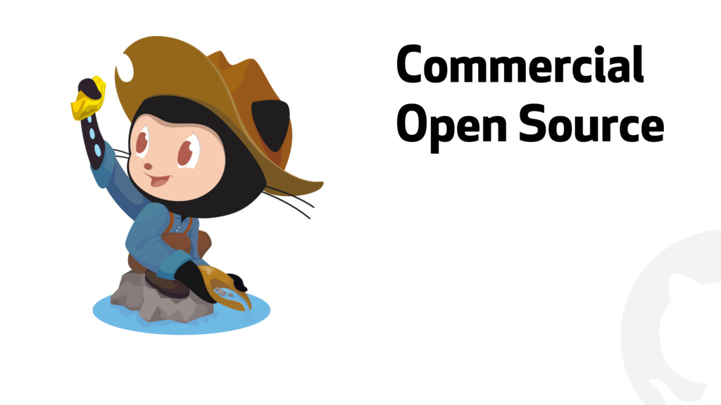 """"""" Commercial Open Source"""