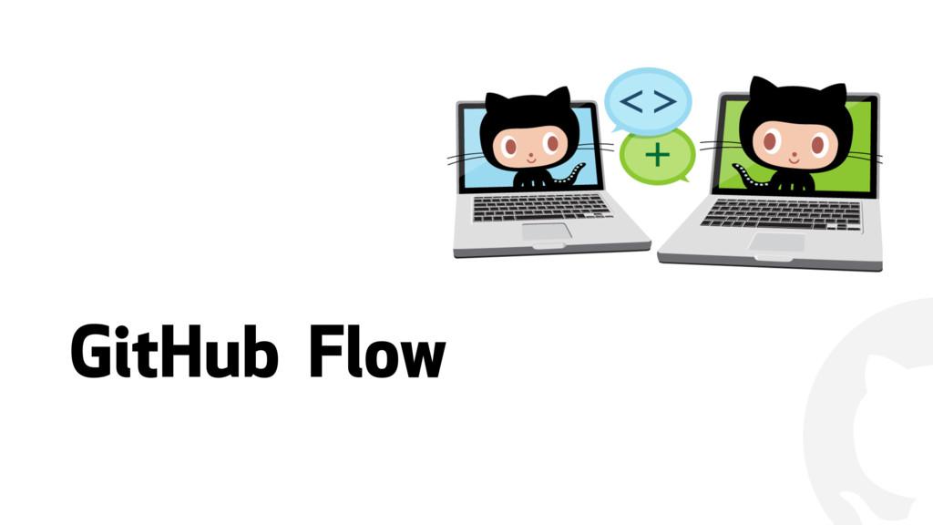""""""" GitHub Flow"""