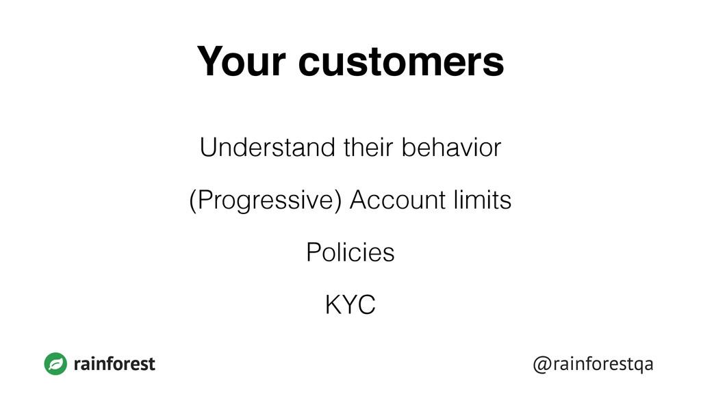 @rainforestqa rainforest Your customers Underst...