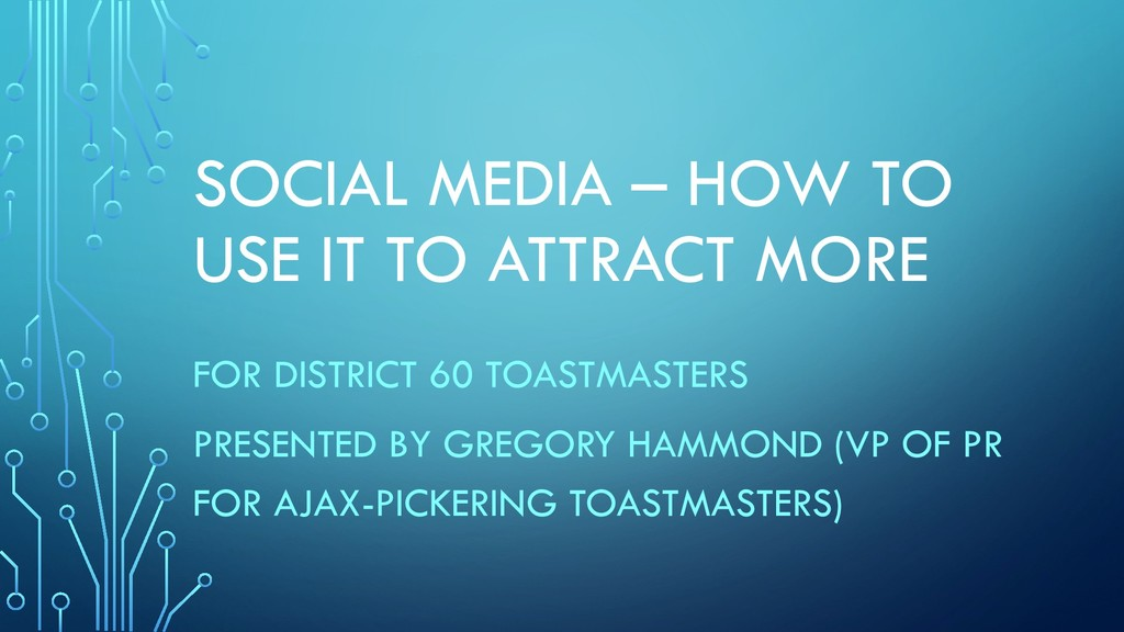 SOCIAL MEDIA – HOW TO USE IT TO ATTRACT MORE FO...