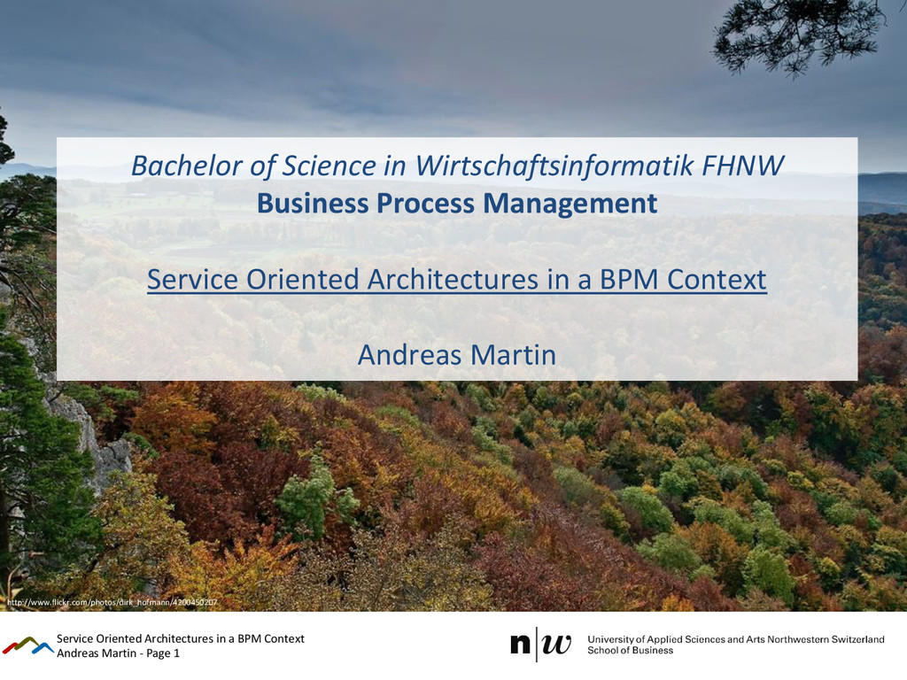 Andreas Martin - Page 1 Bachelor of Science in ...