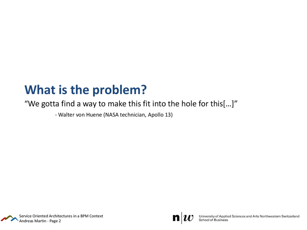 "Andreas Martin - Page 2 What is the problem? ""W..."