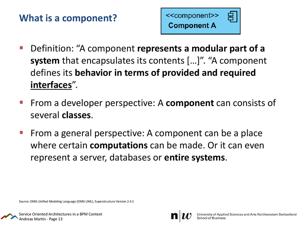 Andreas Martin - Page 13 What is a component? ...