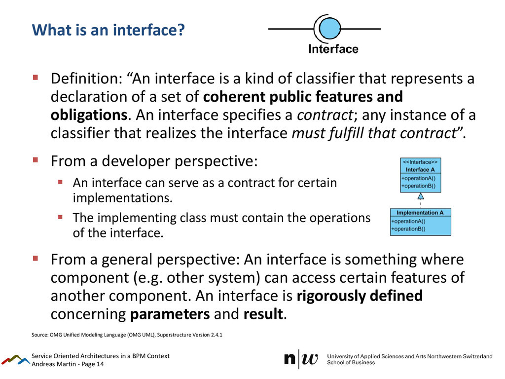 Andreas Martin - Page 14 What is an interface? ...