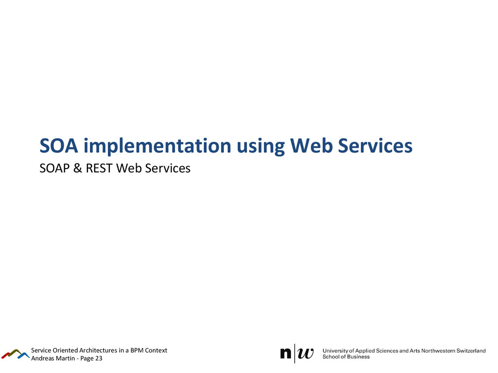 Andreas Martin - Page 23 SOA implementation usi...